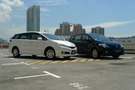 Twin test: Mazda5 2.0 (A) vs. Toyota Wish 2.0 (A)