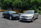 Twin test: Audi A4 1.8 TFSI (A) vs. Mercedes-Benz C180 CGI BlueEFFICIENCY  (A)