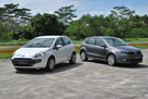 Twin test: Fiat Punto Evo Multi-air Dynamic 1.4 (M) vs. Volkswagen Polo Sport 1.2 TSI (A)