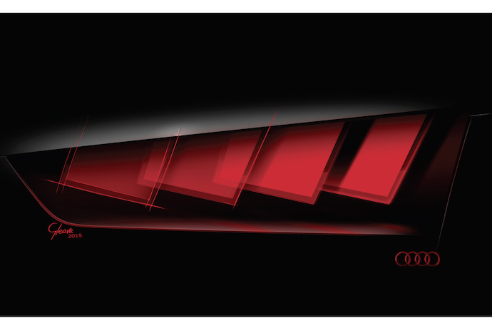 Audi's Matrix OLED technology to make its debut in a concept car at the IAA