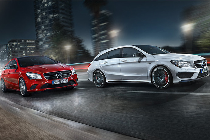 Mercedes-Benz CLA Shooting Brake Launch