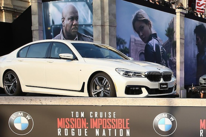 "Next-Generation BMW 7 Series Featured in the Highly-Anticipated Film ""Mission: Impossible 5"""
