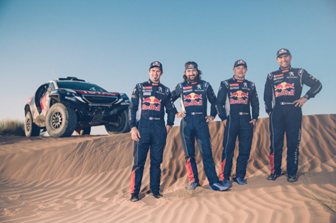 Competitive action resumes for the PEUGEOT 2008 DKR