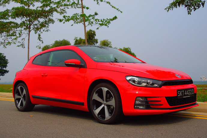 Volkswagen Scirocco 1.4 TSI (A) Review Review