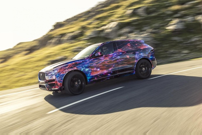 Jaguar F-Pace Sets the Standard for Ride and Handling