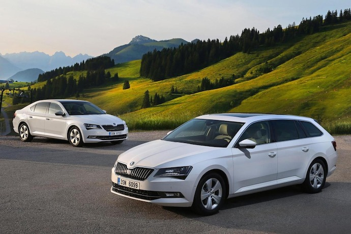 The new Skoda Superb GreenLine covers more than 1,100 miles on a single tank