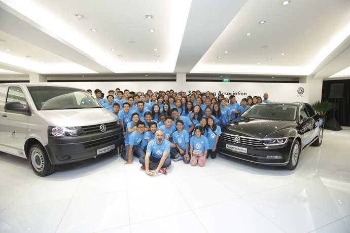 Volkswagen partners Singapore Swimming Association to drive sporting excellence