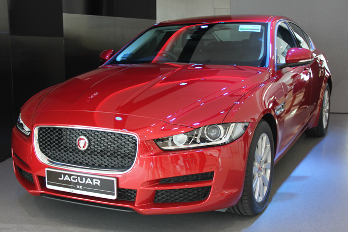 All New Jaguar XE Launched