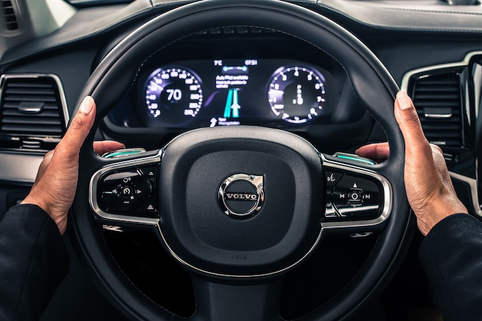 Volvo Cars reveals safe and seamless user interface for self-driving cars