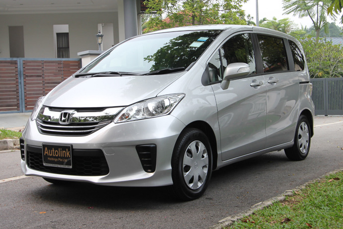 Honda Freed 1.5G (A) Facelift Review