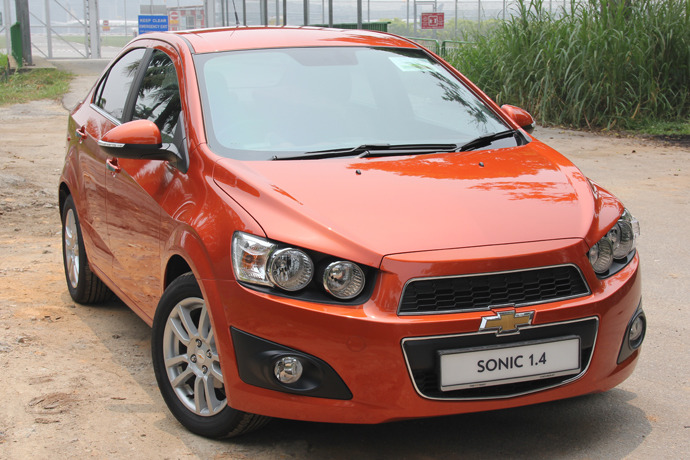 Chevrolet Sonic 1.4 (A) LTZ Review