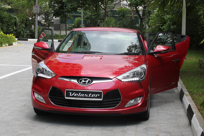 Hyundai Veloster 1.6 MPi (A) Review