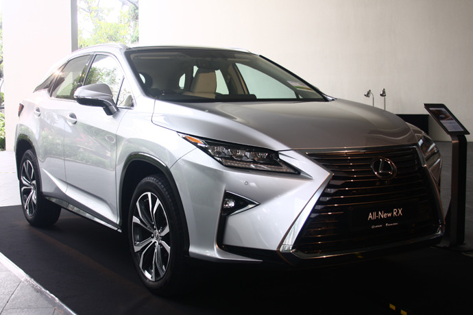 Long awaited replacement for the Lexus RX arrives here
