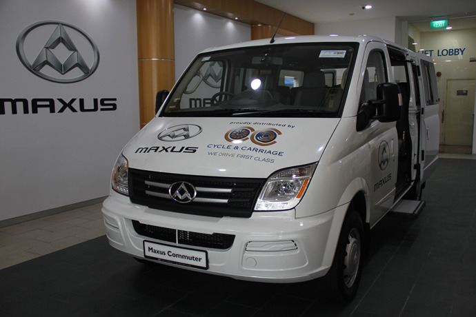 Cycle and Carriage launches Maxus commercial vehicles