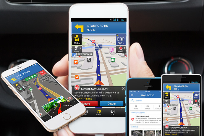 How Galactio Solves 5 Problems With GPS Navigation Apps