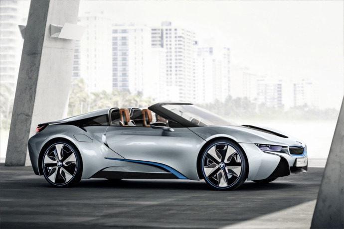 BMW revising the i8 for 2017