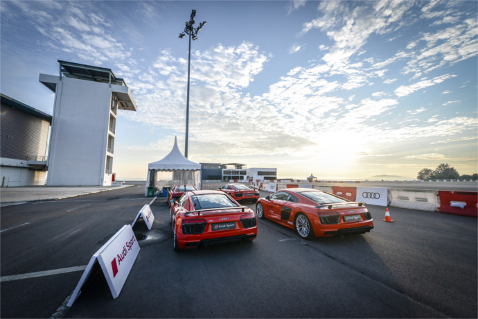 Audi sets emotions racing at the first-ever Audi Sport Driving Experience