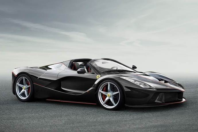 Open-top LaFerrari Revealed!