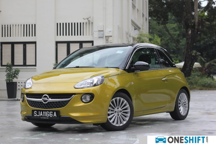 Opel Adam 1.4 Easytronic Review