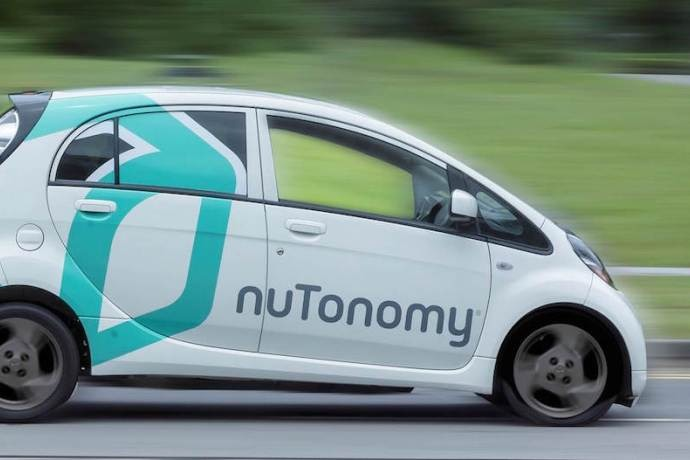 nuTonomy Launches Trial of Self-Driving Car Services and Ride-Hailing App