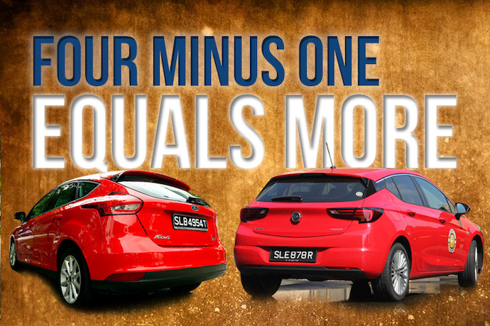 Four Minus One Equals More - Ford Focus 1.0 Ecoboost vs Opel Astra 1.0 Easytronic