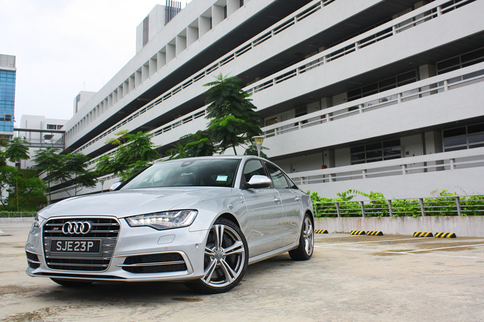 Audi S6 4.0 TFSI S tronic 2012 Review