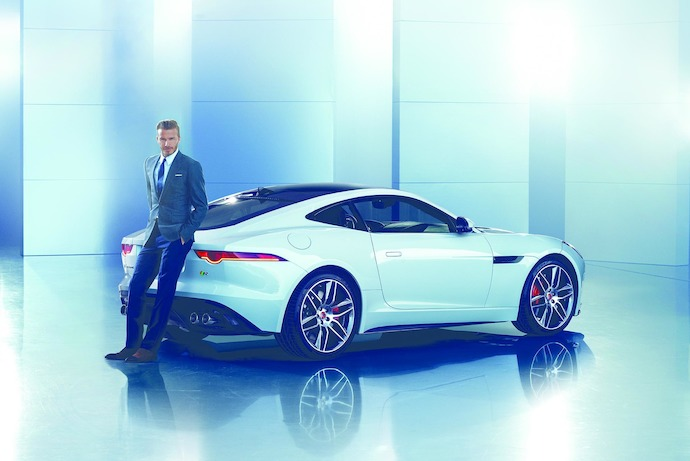 Jaguar Announces David Beckham As Brand Ambassador For China