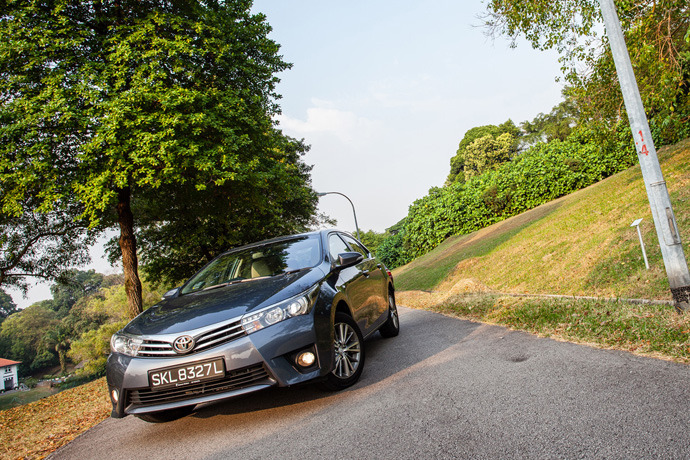 Toyota Corolla 1.6 (A) Review