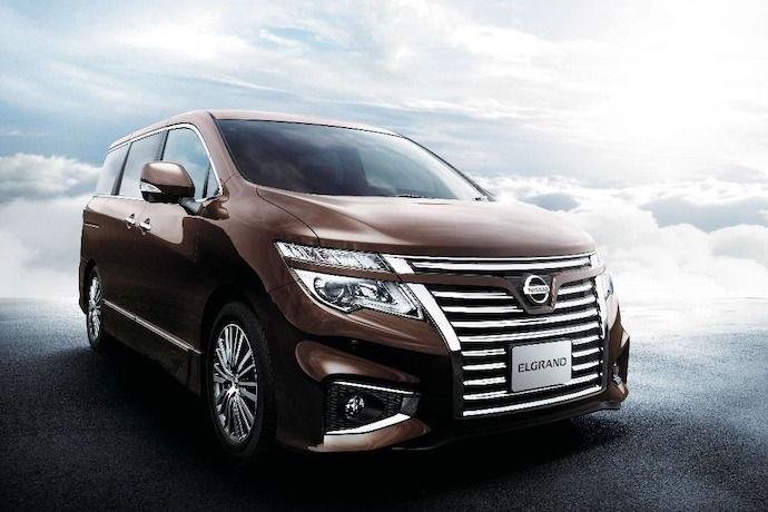 SG: 2014 Nissan Elgrand Minor Change Model Gets Major Enhancements
