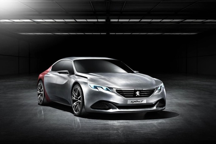 The Peugeot Exalt Concept:  Design Innovator For Heightened Sensations