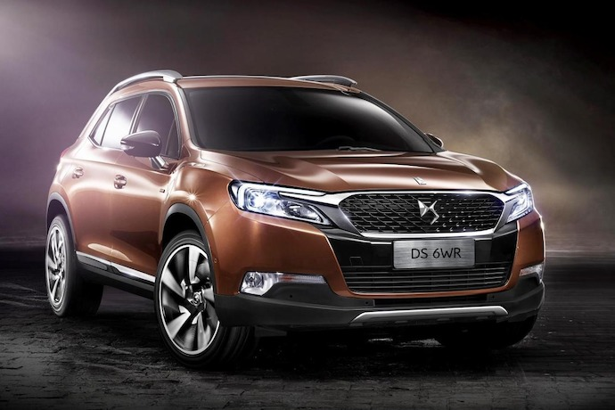 DS 6WR: Wild & Refined Premium SUV To Be Unveiled At Beijing Show