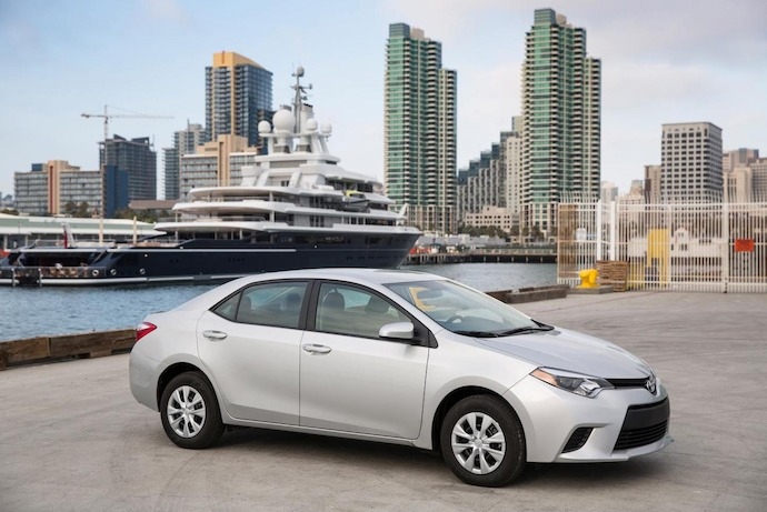 Toyota Corolla Top Of The World With 1.22 Million Sales In 2013
