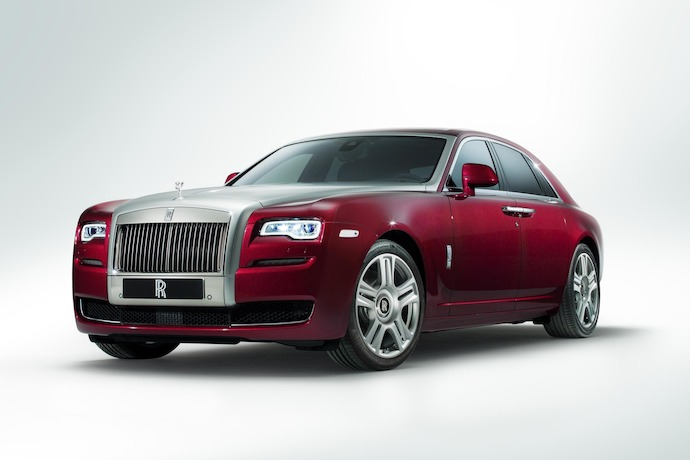 Rolls-Royce Ghost Series II Debuts In North America At 2014 New York Auto Show