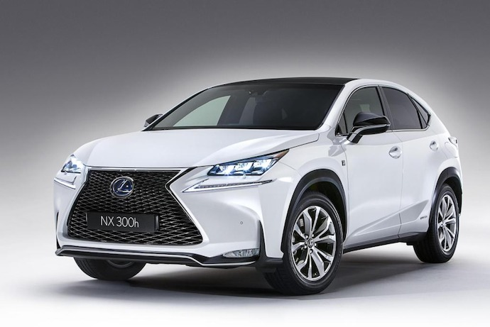 New NX Crossover Opens A New Chapter For Lexus