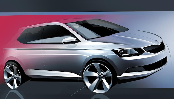 The new SKODA Fabia Design