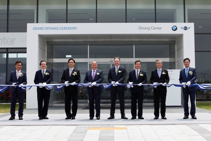 BMW Group Opens First Driving Center in Asia