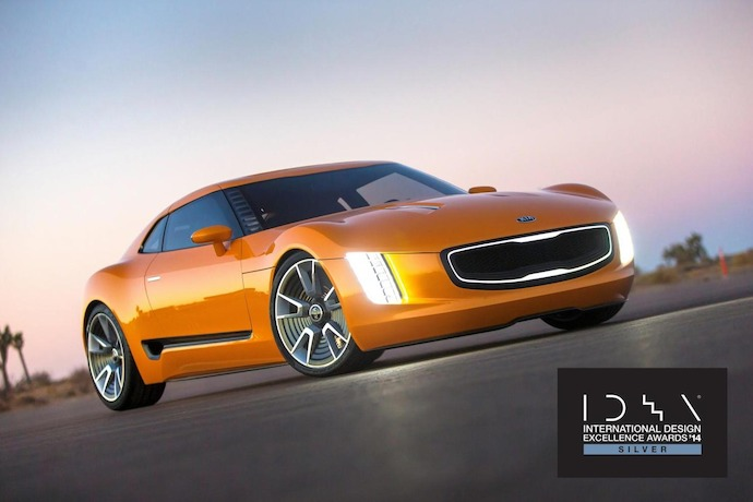 Kia GT4 Stinger Concept And 2014 Soul Earn International Design Excellence Awards