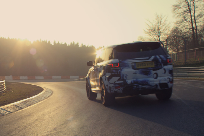 Range Rover Sport SVR As The Fastest Production SUV Around Nurburgring