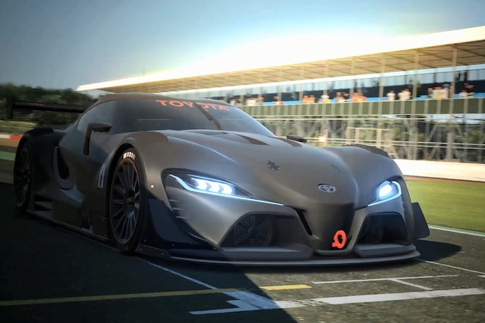Toyota Designs An Even Hotter FT-1 For Vision Gran Turismo