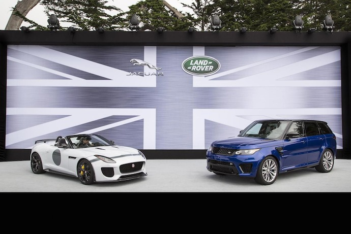 Jaguar Land Rover Debuted Three High Performance Models At Pebble Beach