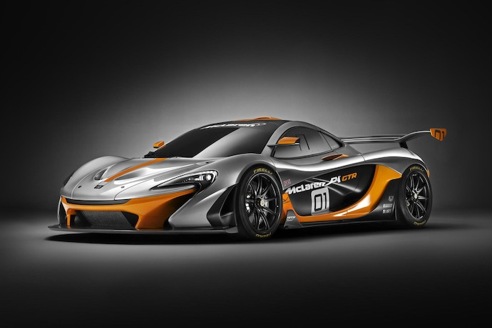 The McLaren P1 GTR design concept unveiled