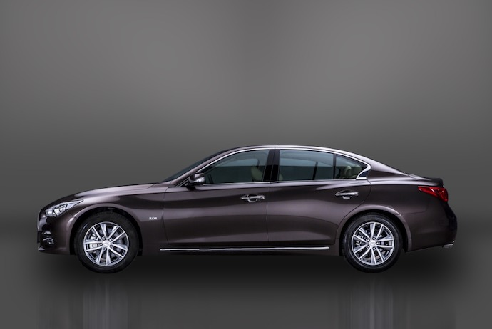 Infiniti Goes Long on Premium with the Q50L