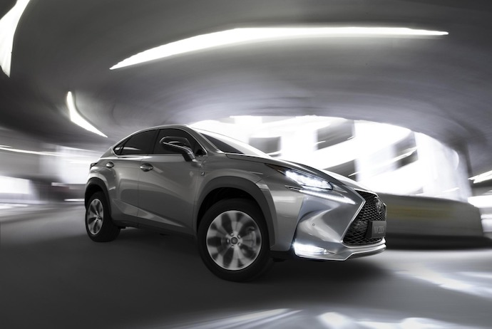Lexus NX Takes SUV Design To A Whole New Level