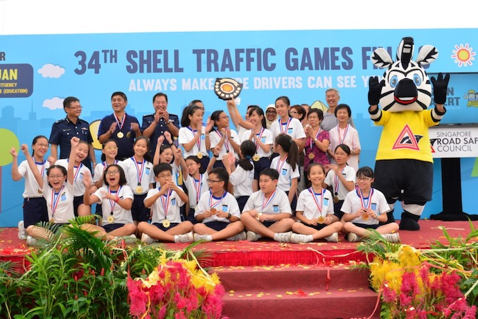 SG: Annual Shell Traffic Games To Demonstrate Dangers Of Distracted Road Usage