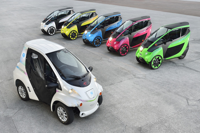 Toyota's i-Road ready to run in French urban mobility project