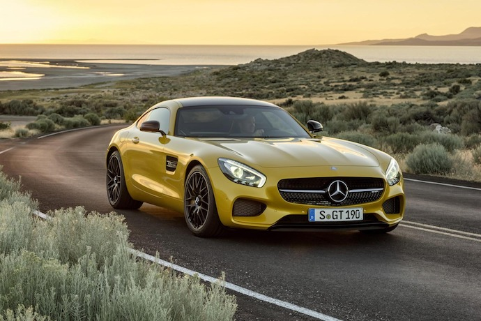 Introducing: The All New Mercedes-AMG GT