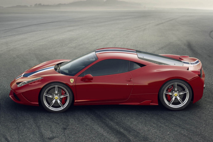 IT: Ferrari to unveil 458 Speciale Spider at Paris Motor Show