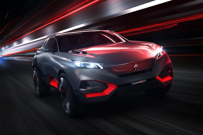 Peugeot Quartz Concept Wants To Be the SUV of The Future