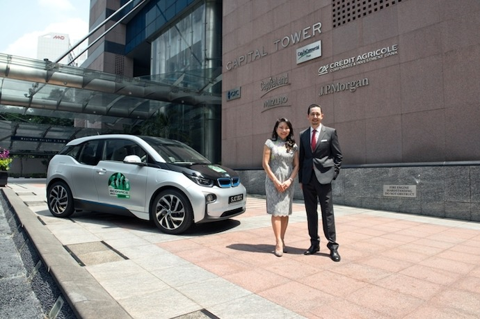 SG: BMW Group Asia and CapitaCommercial Trust forges sustainability partnership
