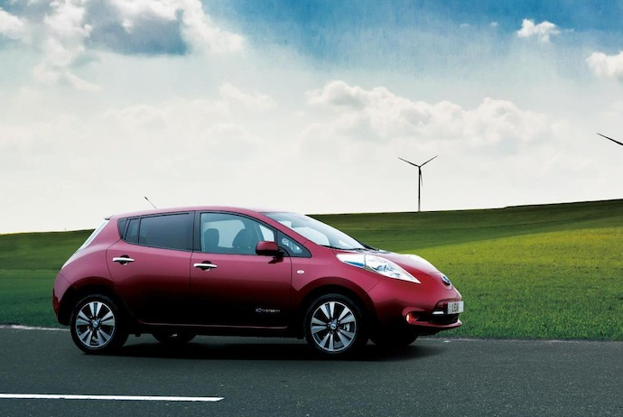 "Nissan scores a perfect ""100A"" in the CDP Global 500 Climate Change Report 2014"